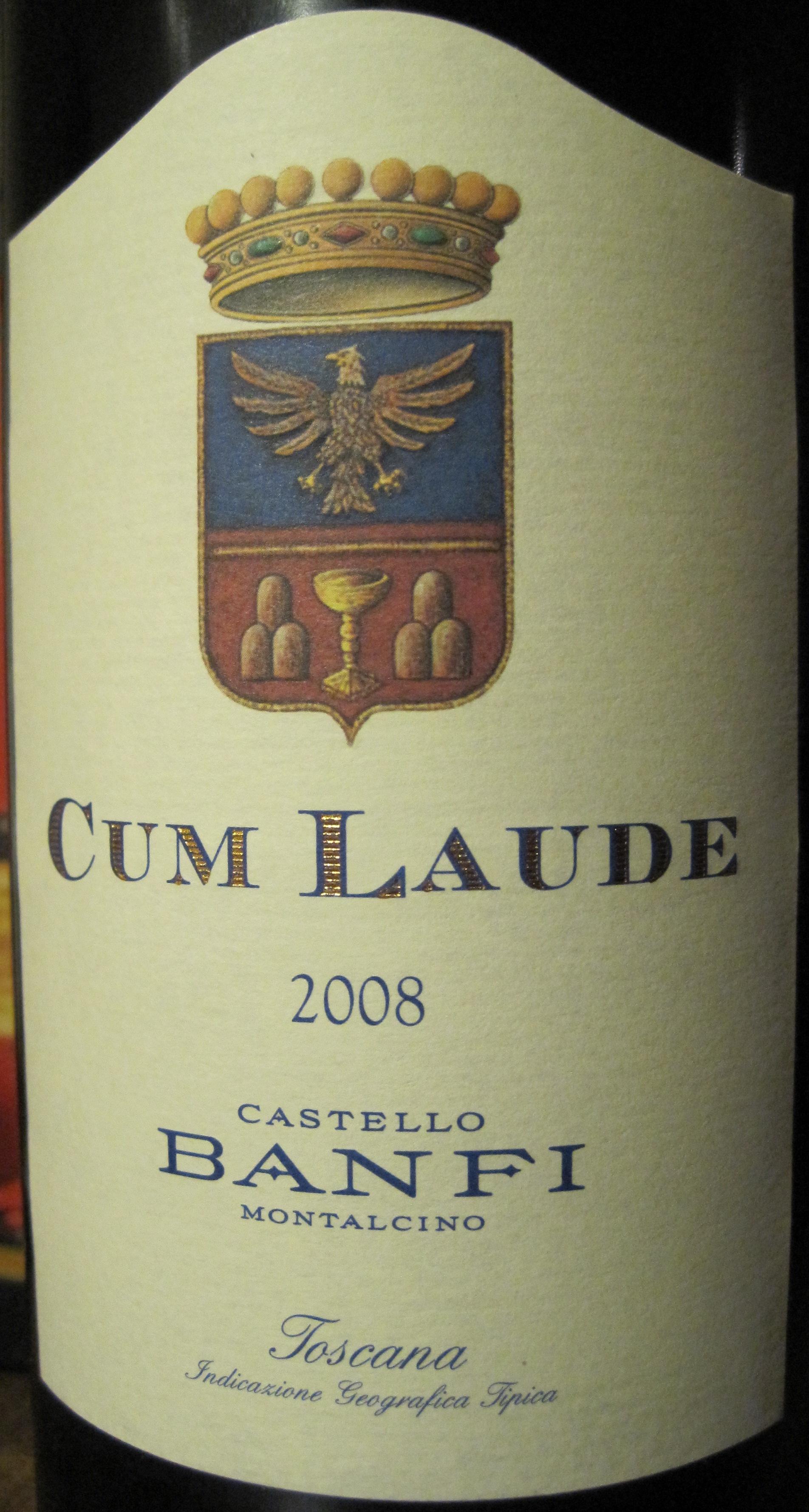 Buy 2004 Castello Banfi Cum Laude SantAntimo 750ML