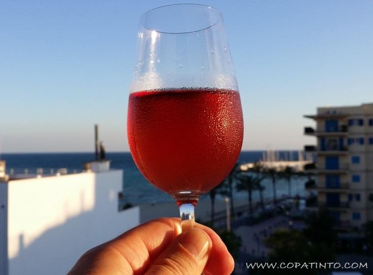 Rosé glass s