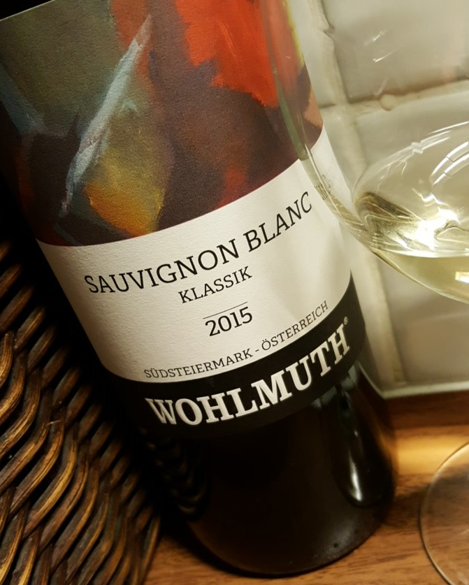 Wohlmuth Sauvignon Blanc Klassik 2015